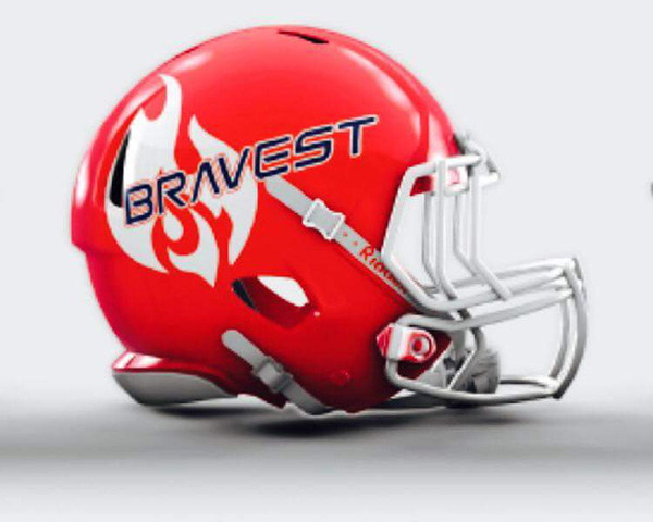 FDNY Bravest Mini Football Helmet