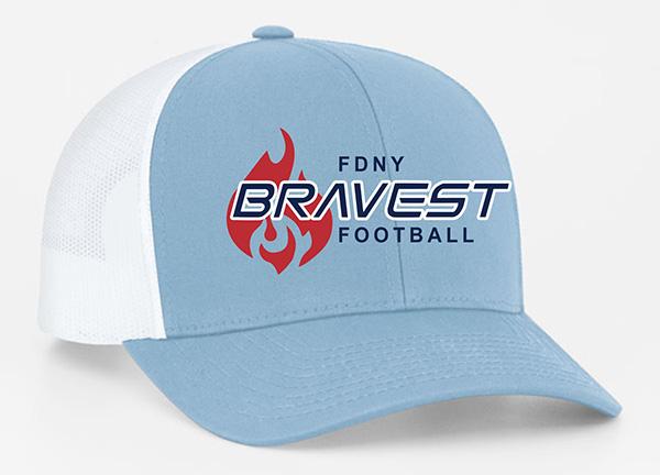 Light Blue / White Trucker Hat