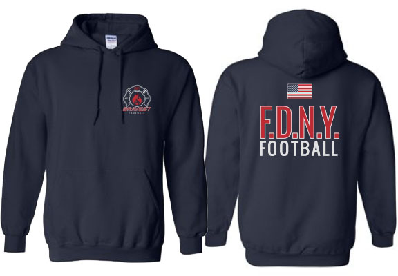FDNY Bravest Football Sweatshirt