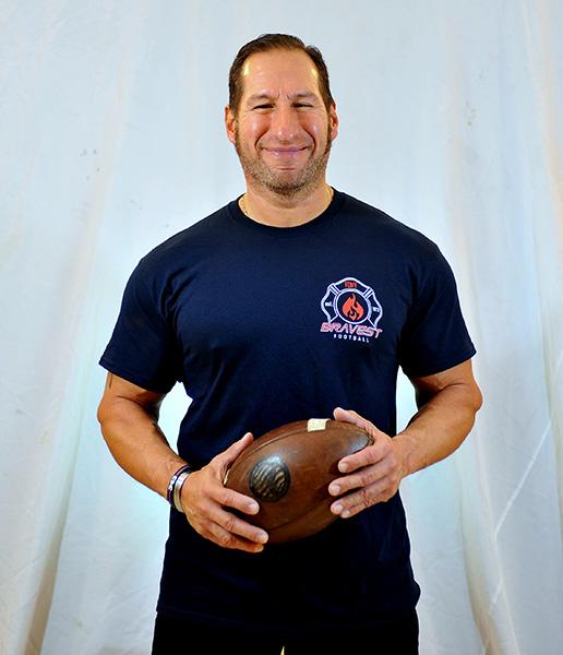 FDNY Bravest Football Short Sleeved T-Shirt